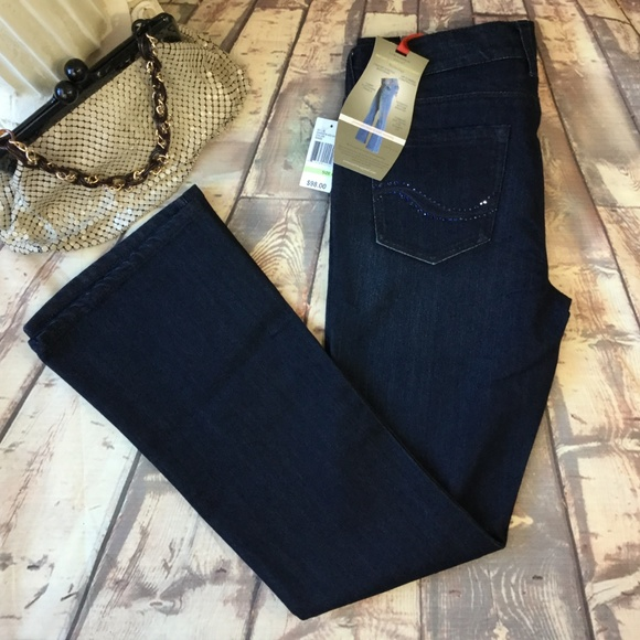 Curve Appeal Denim - NWT Curve Appeal 4 Captivating Bootcut Jeans Dark